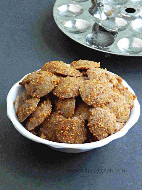 Nitha Kitchen: Mini Ragi Podi Idli n Ragi Brown Rice Idli Dosa batter