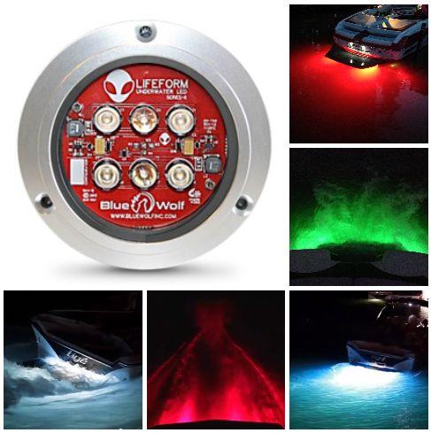 The LF6 underwater led boat light http://lifeformled.com/lifeform-6/