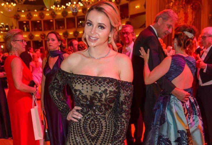 Autsch! Ihren Auftritt auf dem Wiener Opernball hatte sich Cathy Lugner wahrscheinlich anders vorgestellt...