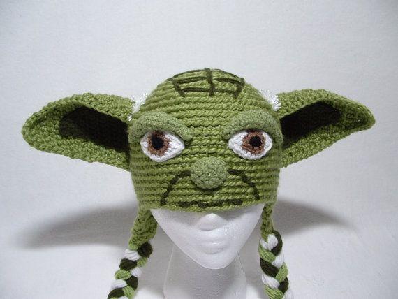 Mejores 8 imágenes de gorro de yoda en Pinterest   Sombreros de ...