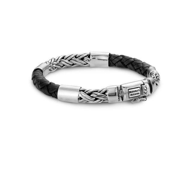 Buddha to Buddha Bracelet Katja Mix Black