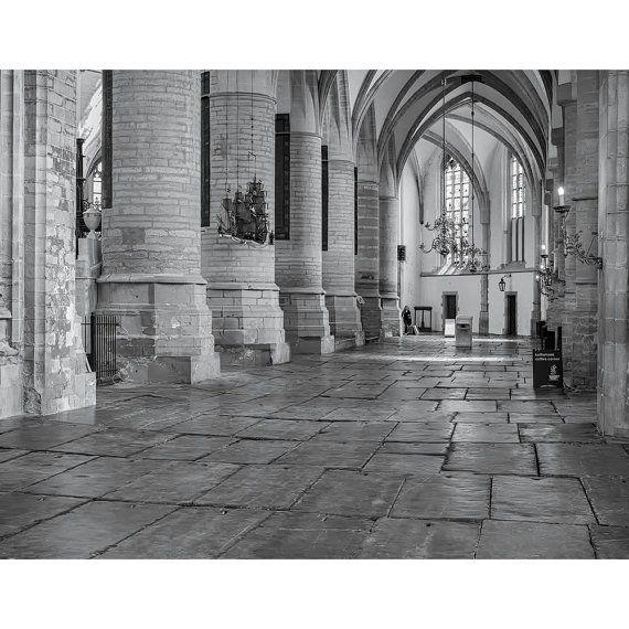 """Interior of The St. Bavo Church, Haarlem"""