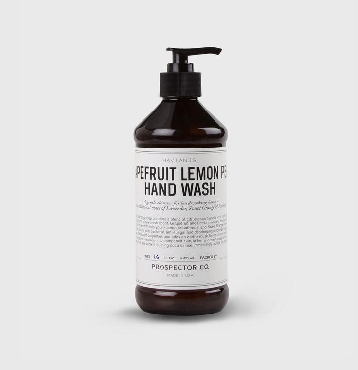Grapefruit Lemon Peel Hand Wash. Amazing soap i used in Savanah