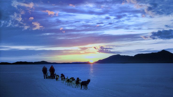 Alaska, Evening Near Nome