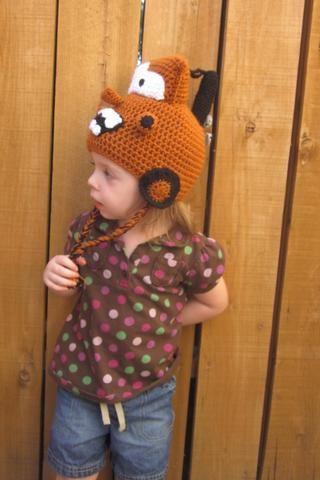 Rusty Tow Truck Hat - Crochet Tow Truck Hat - Crochet Car Hat - Kids Winter Hat - Crochet Winter Hat