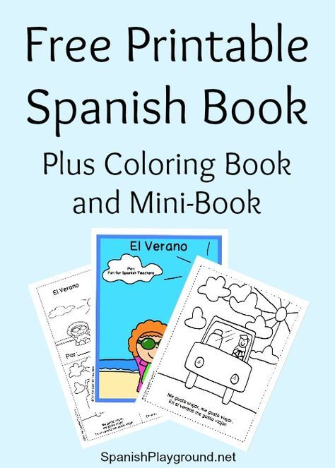 35 best Activities and Ideas in Spanish images on Pinterest ...