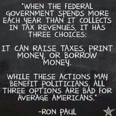 Ron Paul:  #Billofrights #Constitution #Donttreadonme #Libertarian #Liberty   http://www.sonsoflibertytees.com/patriotblog/ron-paul/?utm_source=PN&utm_medium=Pinterest+%28Memes+Only%29&utm_campaign=SNAP%2Bfrom%2BSons+of+Liberty+Tees%3A+A+Liberty+and+Patriot+Blog-19133-Ron+Paul%3A
