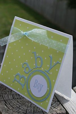 this clean & simple card has a great format for any occasion or theme!