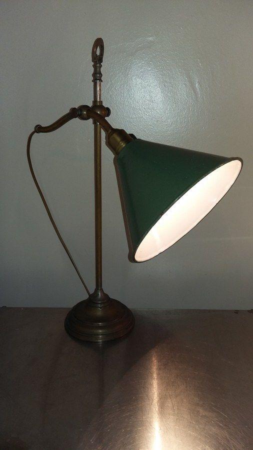 Lampe d'atelier indus