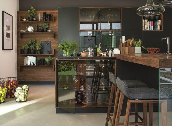team 7 i boje (bez staklenih delova) the striking new Black Line kitchen range from Team 7 at Wharfside