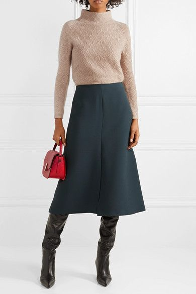 Max Mara – Cashmere turtleneck sweater