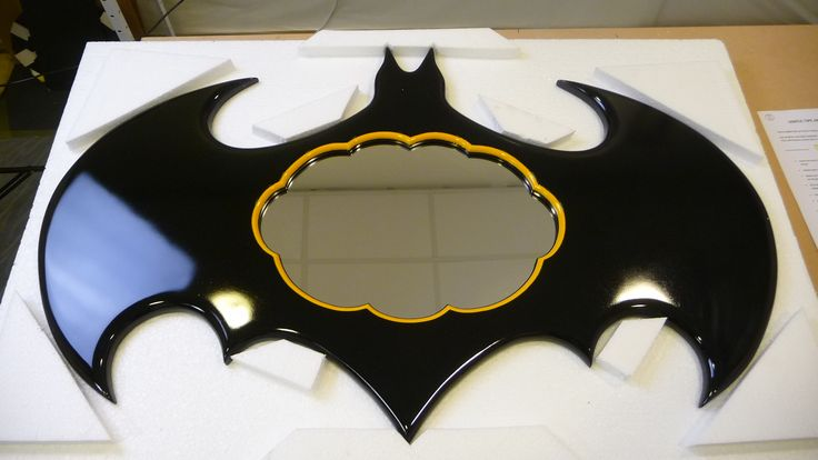 """The Batman (Large) Mirror - for all those who need protection from the criminals of Gotham..! Pow - Bam - Boomm..! """""""""""