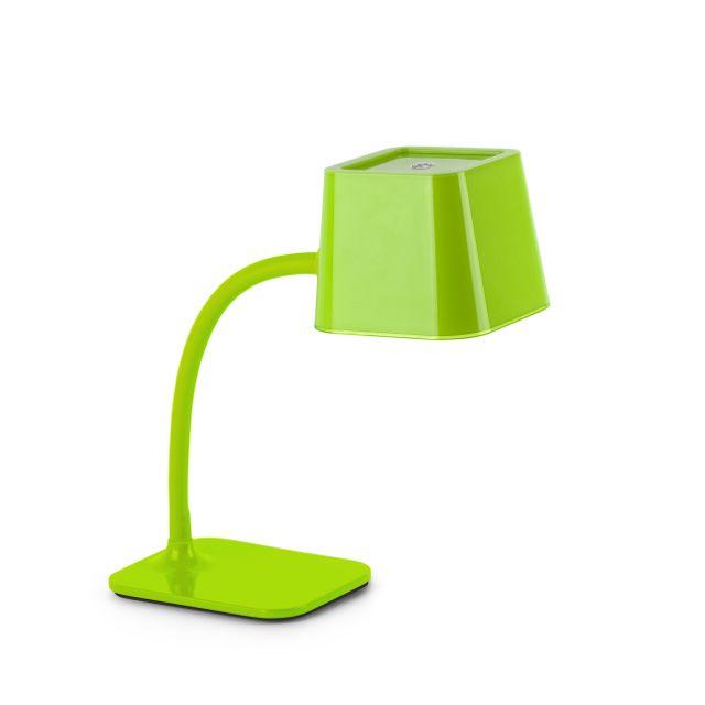 Lámpara escritorio juvenil verde #decoracion #iluminacion #interiorismo #diseño #lamparas #lamparasmesa #lamparasbonitas