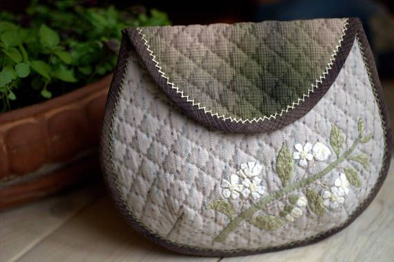 Japanese Patchwork Handbags Quilted tote bag Patchwork