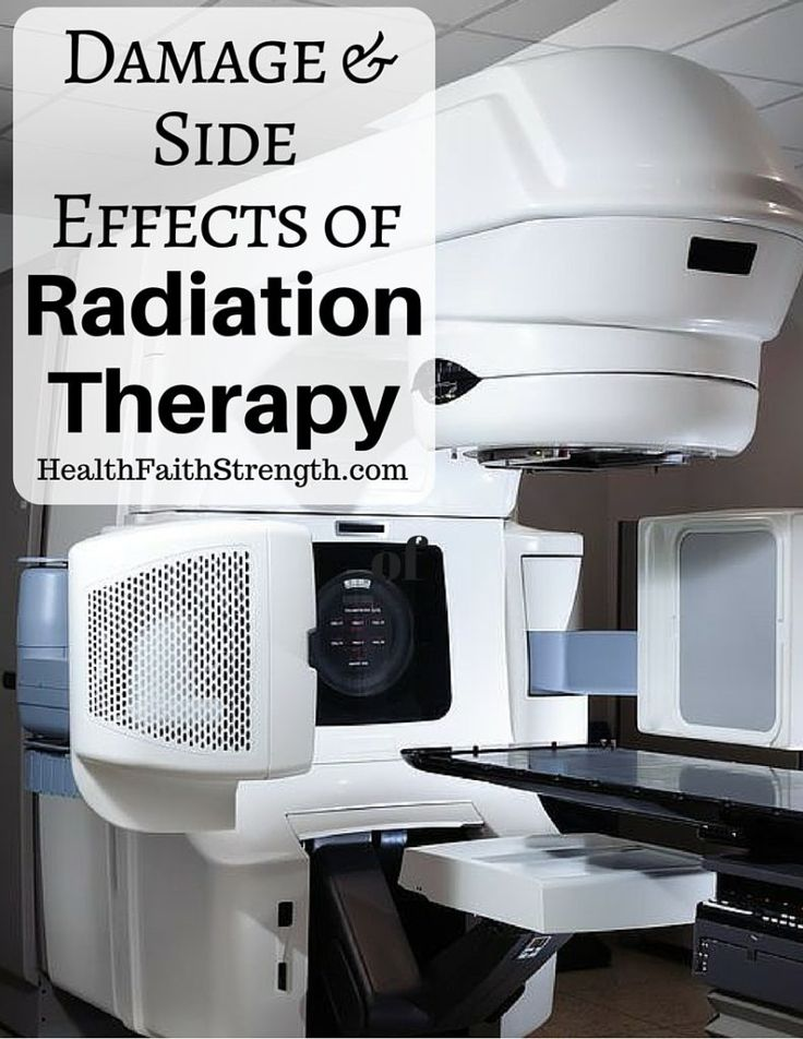 The idea behind radiation is that by damaging the cancer cells' DNA, it will cause enough damage that it can't be repaired, which causes the cancer cells to die | HealthFaithStrength.com
