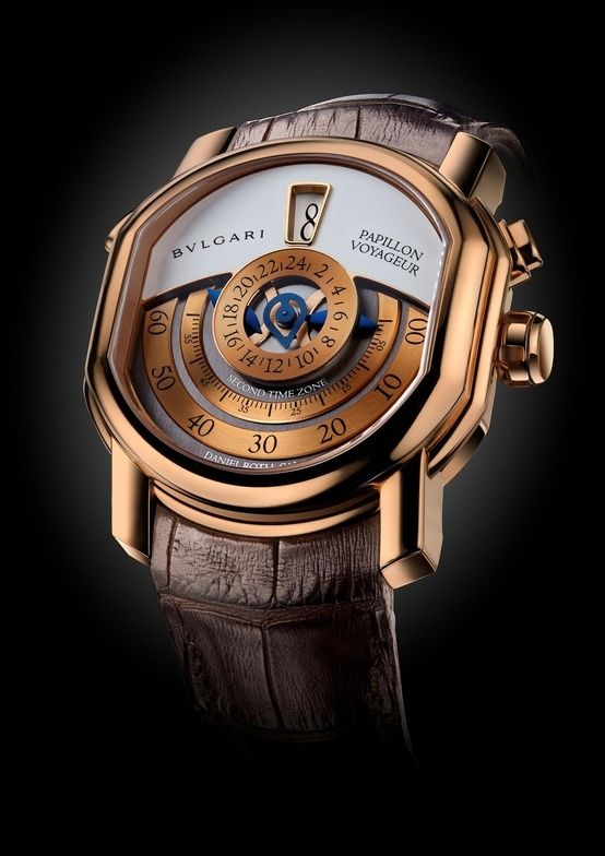 mens accessories watch for him PAPILLON VOYAGEUR , Bulgari Timepieces and Luxury Watches on Presentwatch by Janny Dangerous