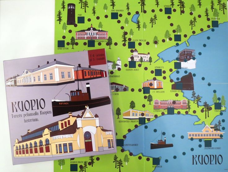 Kuopio lautapeli (39€)