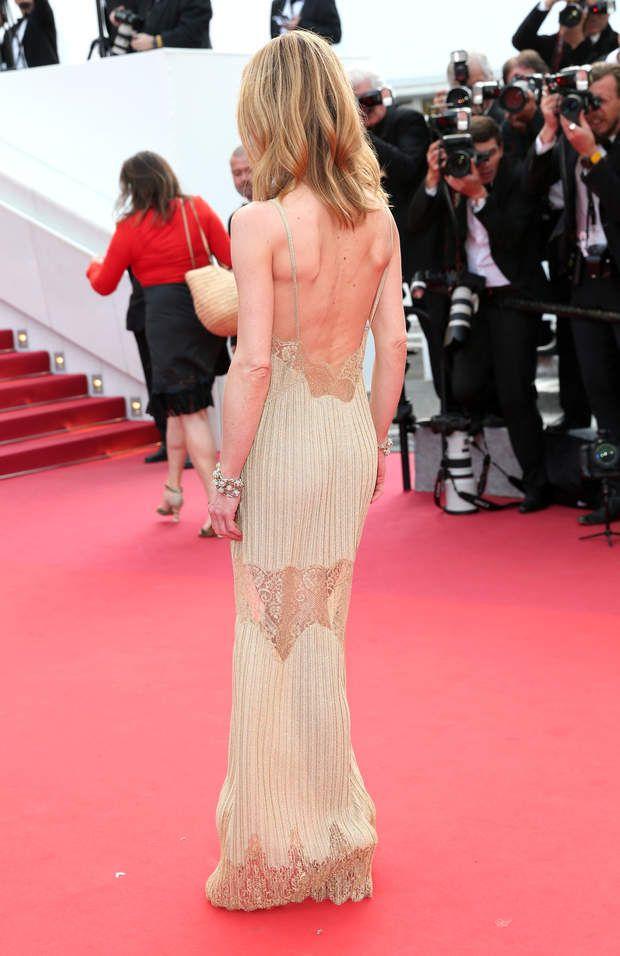 Cannes 2016 : Vanessa Paradis de dos dans sa robe très légère