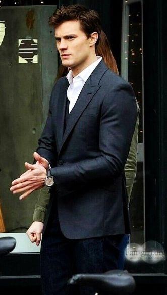 Christian Grey. Jamie Dornan