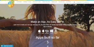 Appypie situs untuk membuat aplikasi android gratis