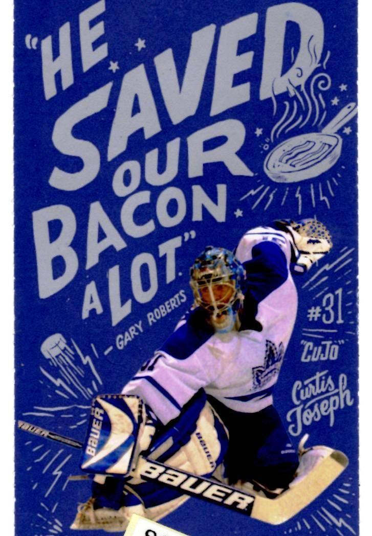 Curtis Joseph Design Souvenir Ticket from Toronto Maple Leafs 100th Year | eBay