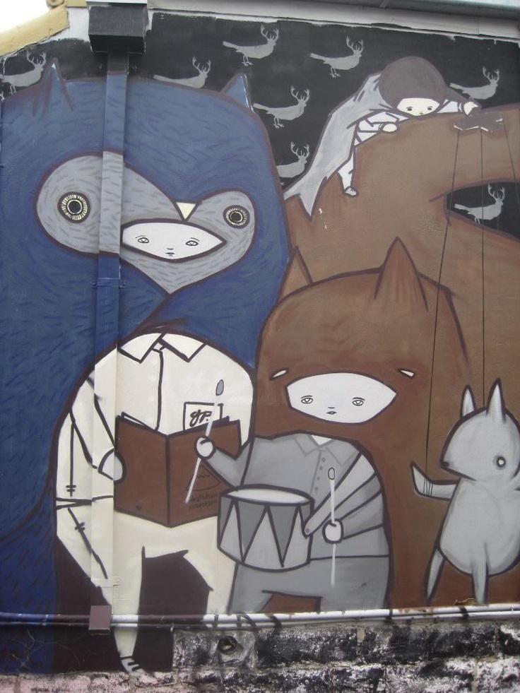 ghostpatrol. street art melbourne.