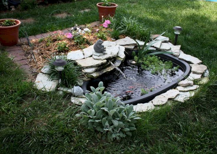 The 25 best preformed pond liner ideas on pinterest for Koi pond kits lowes