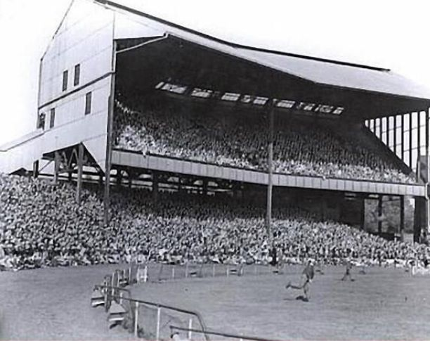 The old North Stand at Stamford Bridge. Not the most stable structure it could vibrate from the crowd stamping their feet after the Blues scored a goal. Some of my earliest visits to the Bridge in the late 60s.