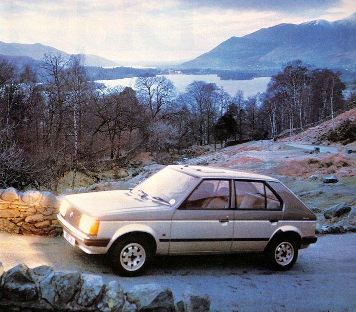 1985 Talbot Horizon Silver Fox.