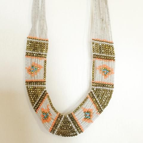 Tribal Bead Necklace - BONYHUB