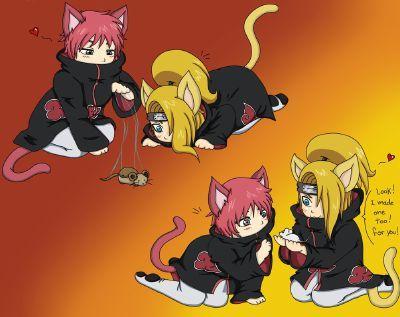 Deidara, Sasori, Tobi,Itachi and Kisame   Akatsuki Kittens! (An Naruto Rp) - Quiz   Quotev