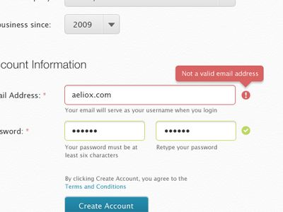 15 best Form Validation images on Pinterest | Fields, Form design ...