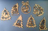 Декоративное новогоднее украшение, новогодняя гирлянда, набор для творчества