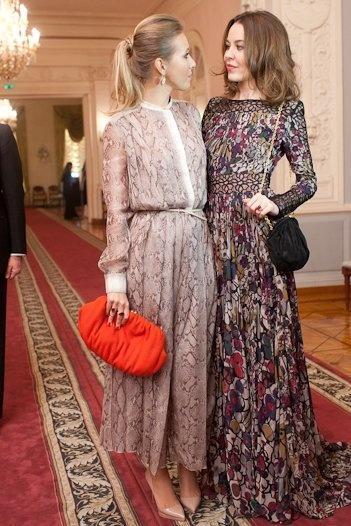Ksenia Sobchak & Ulyana Sergeenko