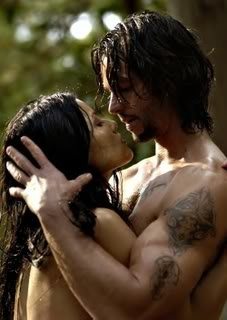 Jason Behr In one of the hottest scenes around from Skinwalkers