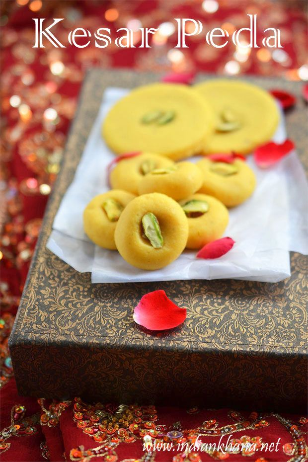 Kesar Peda or Kesar Mawa Peda is very easy peda recipe in just 15 mins, mildy sweet with aroma of saffron takes this cute pedas to all new level ...try these peda for this Diwali or Karwa Chauth
