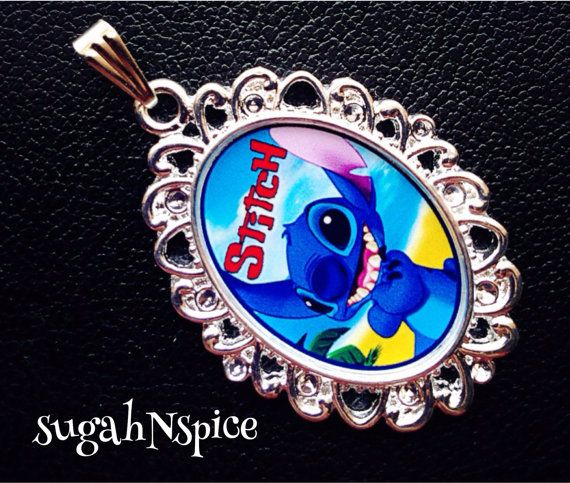 Disney's Lilo and Stitch Necklace Pendant Lilo and by sugahNspice, $3.25