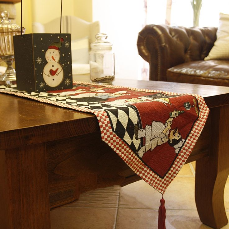 >> Click to Buy << Fashion 33*180cm  table runner  Mediterranean  Vintage Style Lovely cook Table flag Placemat Tea table cover towel #Affiliate