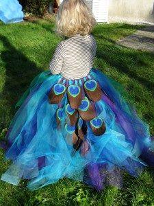 Un costume de paon | MinaLae