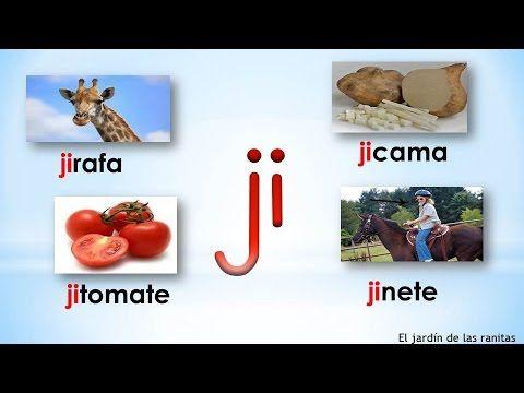 # 15 Sílabas ja je ji jo ju - Syllables With J - YouTube