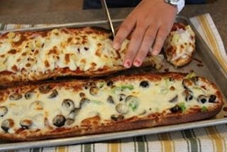 French Bread Pizza... done right! - Whats Cooking With Ruthie