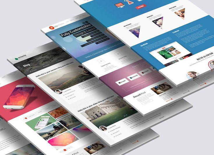 3d Website Mock Up 2 Website Design Web Design Mockup