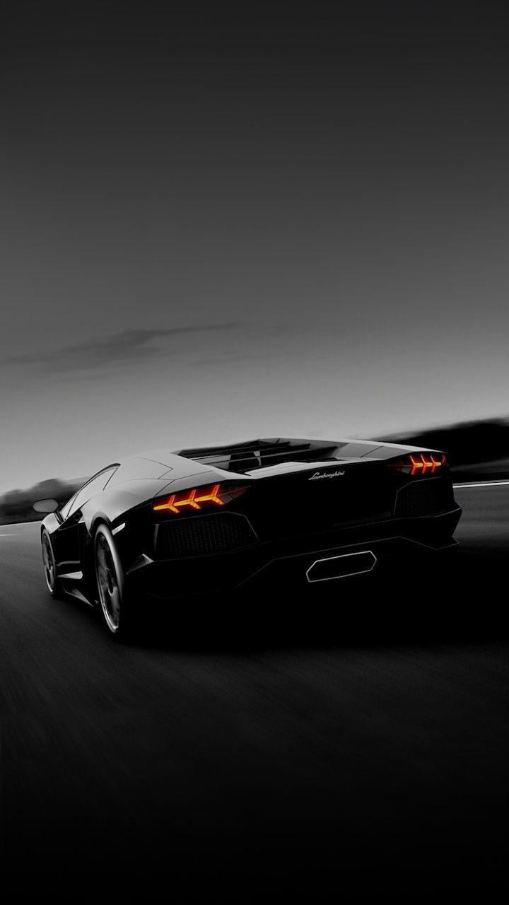 #Black #Lamborghini #Car #Smartphone #Wallpaper
