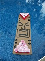 Floating Beer Pong Tables for the Pool. floatingpong.com