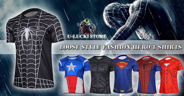 New 2014 Men Ladies T-shirts Fashion Manufacturer Informal Men Garb Plus Size Brief Sleeve Superman Spiderman Venom Captain Tee Shirt   Confira um novo artigo em http://importarroupas.blog.br/products/new-2014-men-ladies-t-shirts-fashion-manufacturer-informal-men-garb-plus-size-brief-sleeve-superman-spiderman-venom-captain-tee-shirt/