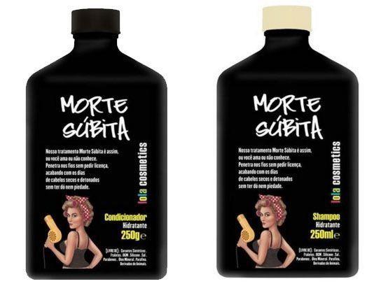 Lola Cosmetics - Kit Shampoo + Condicionador Morte Súbita - www.beautylist.com.br - Produtos para Cabelos