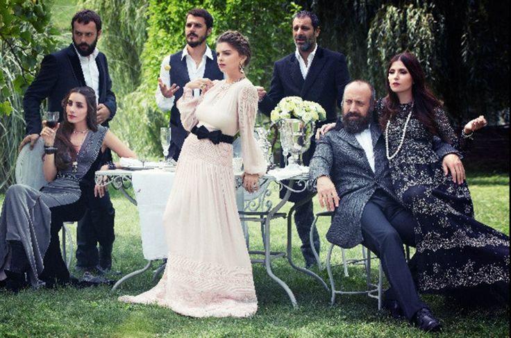 Pelin Karahan -Turkish Actress Olaf Wipperfurth for Vogue Turkey Fall 2012 Muhteşem Yüzyıl