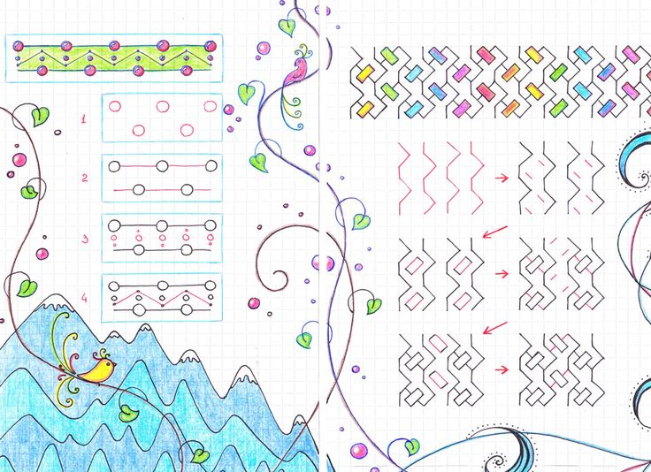 graph paper drawings instructions
