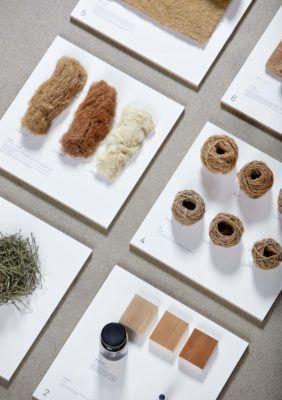 Lã Forest: fabricação de papel, têxteis e móveis de agulhas de pinheiro 7