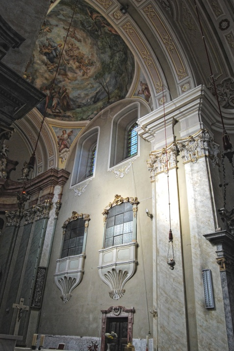 sfanta maria radna monastery interior lipova arad beautiful romania architecture